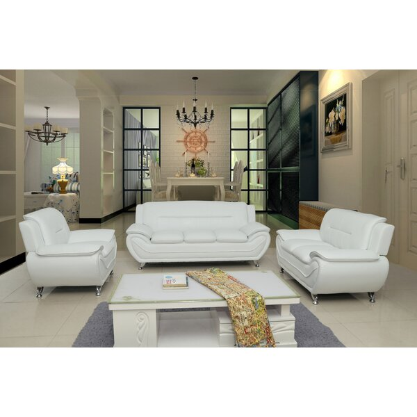 Segura 3 Piece Living Room Set by Orren Ellis