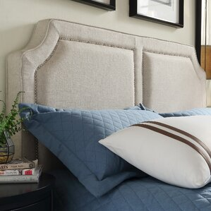 Thirsk Upholstered Panel Headboard by House of Hampton