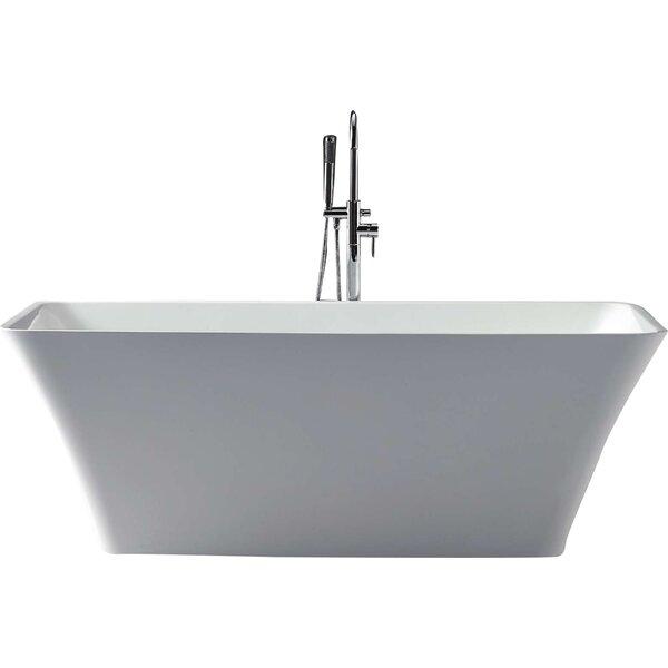 Serenity 67 x 29.5 Soaking Bathtub by Virtu USA