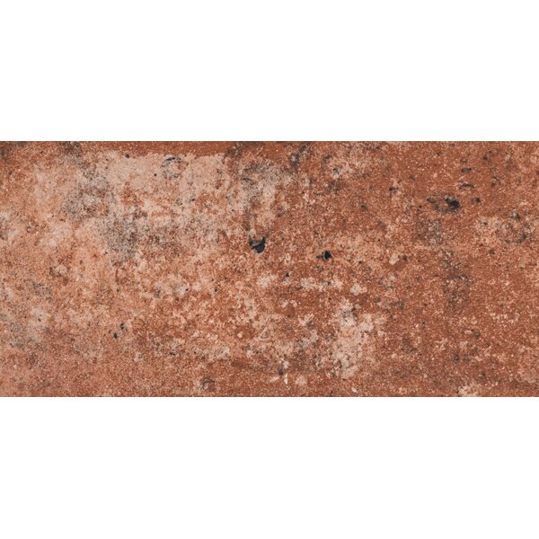 Capella Brick 5 x 10 Porcelain Field Tile in Red by MSI
