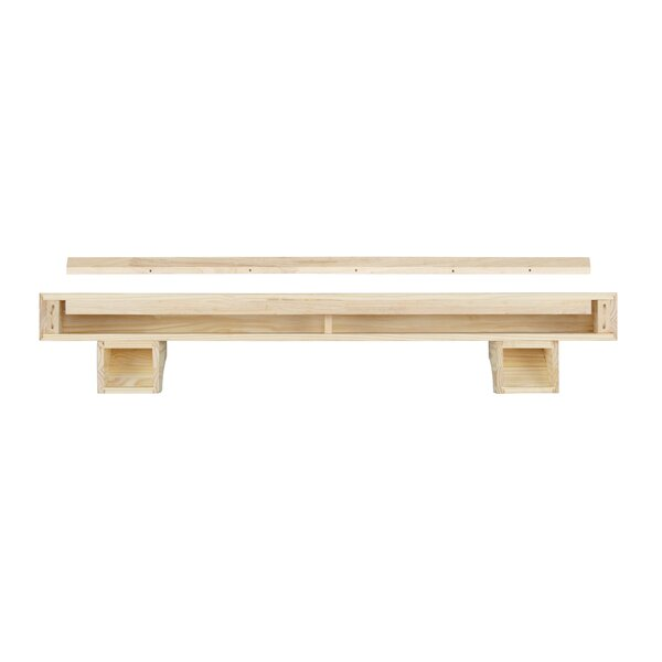 The Cherokee Mantel Shelf By Pearl Mantels