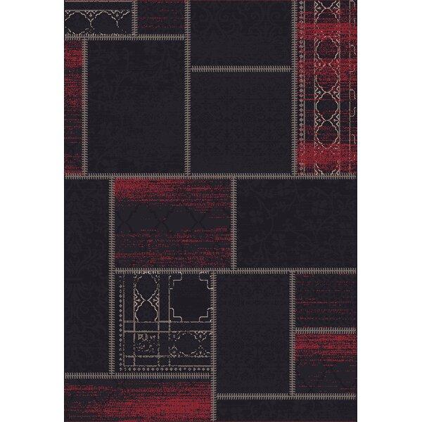 Vintage Black/Red Rug by Dynamic Rugs