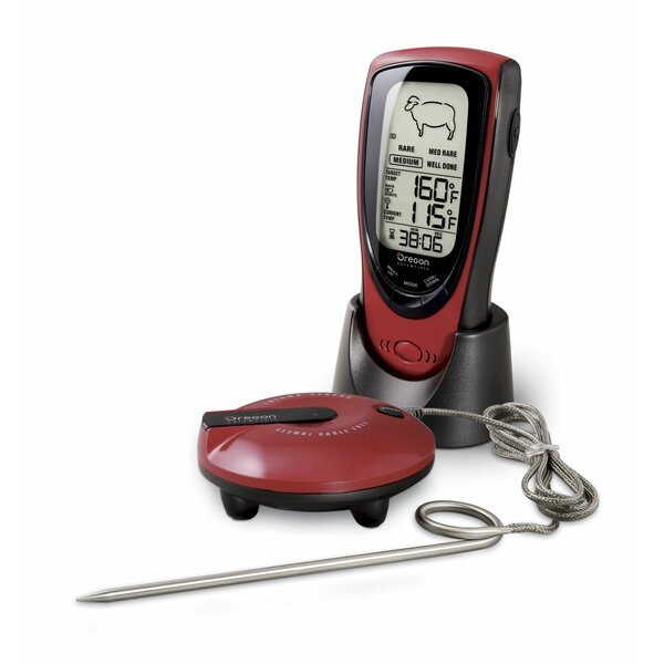 Wireless Talking BBQ Thermometer by Oregon Scientific