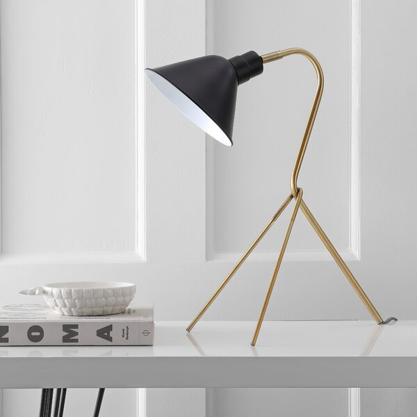 Courtland Brass 21 Tripod Table Lamp by Corrigan Studio