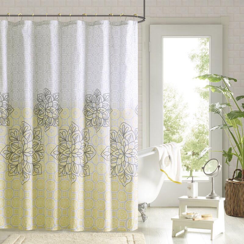 Double Swag Shower Curtain Promotion Lead S Lilac Lavender