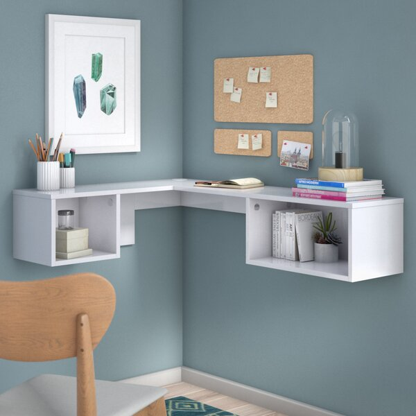 Chaves Wall Mount Corner Desk by Orren Ellis