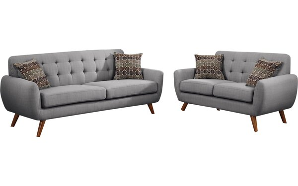 Bice 2 Piece Living Room Set by Mercury Row