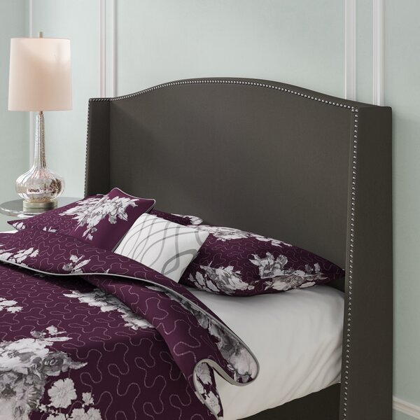 Dowland Nail Button Upholstered Wingback Headboard by Willa Arlo Interiors