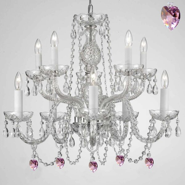 Kenny 10 - Light Candle Style Classic / Traditional Chandelier By House Of Hampton