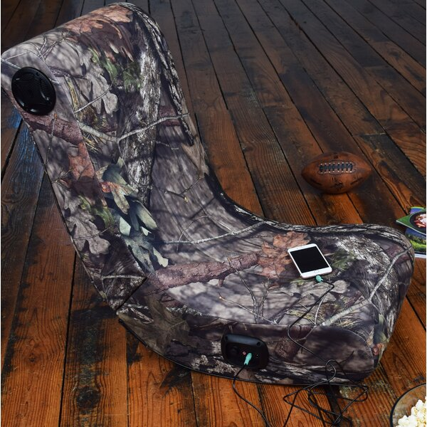 Wired Mossy Oak X Wood Break Up Country Rocker by Loon Peak