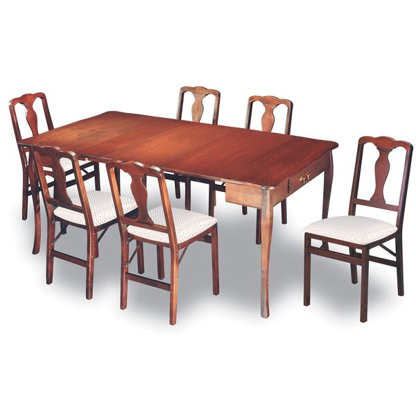 Divernon Expanding 7 Piece Dining Set by Alcott Hill