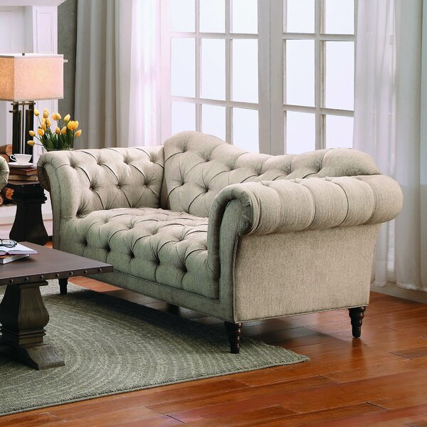 Get Premium Burna Loveseat by Willa Arlo Interiors by Willa Arlo Interiors