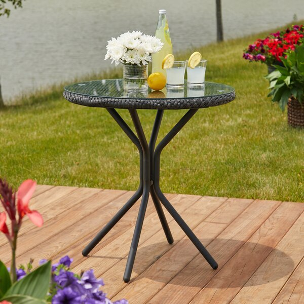 Barbour Patio Bistro Table by Lark Manor