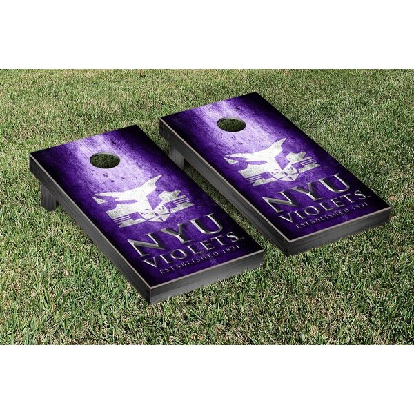 EHL New York Bobcats Metal Version Cornhole Game Set by Victory Tailgate