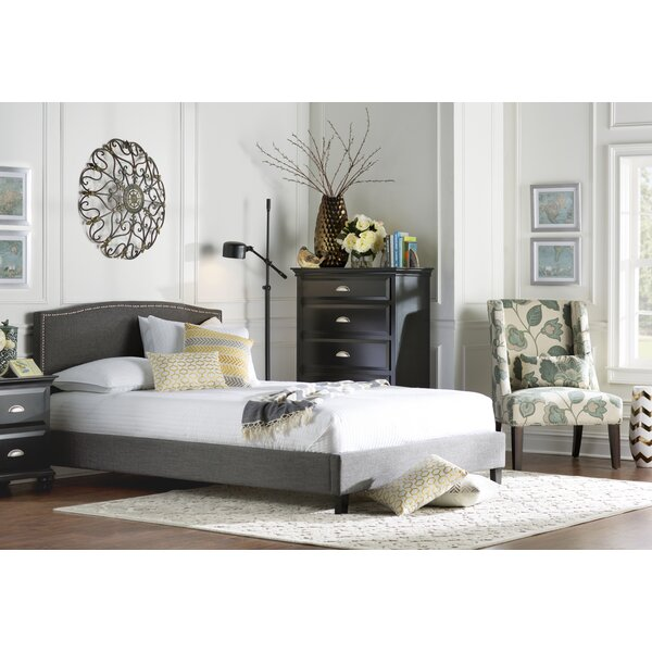 Tipler Queen Upholstered Platform Bed by Charlton Home