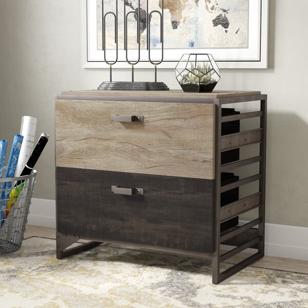 Rosemarie Industrial 4 Piece Desk Office Suite by Greyleigh