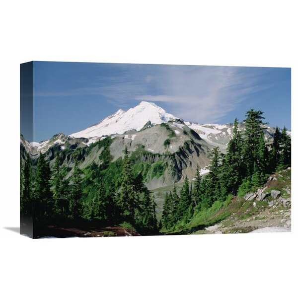 Nature Photographs Mt Baker, Cascade Mountains, Washington by Tim Fitzharris Photographic Print on Canvas by Global Gallery