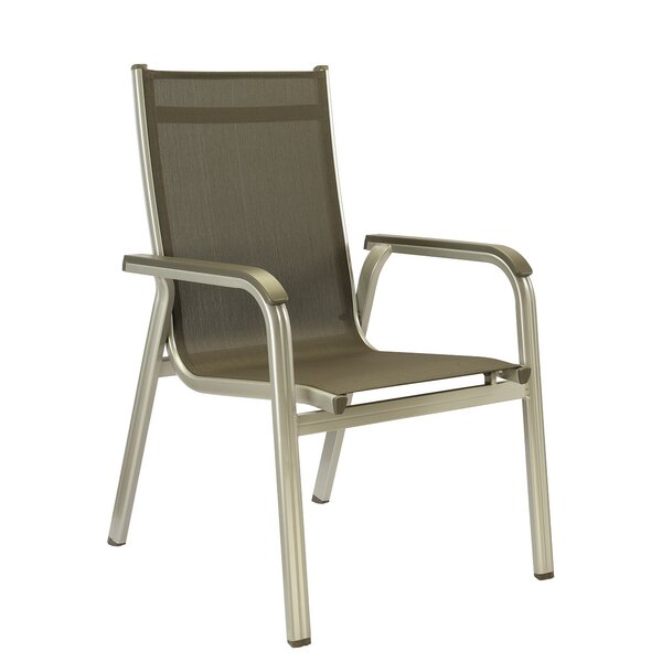 Basic Plus Stacking Patio Dining Chair (Set of 2) by Kettler USA