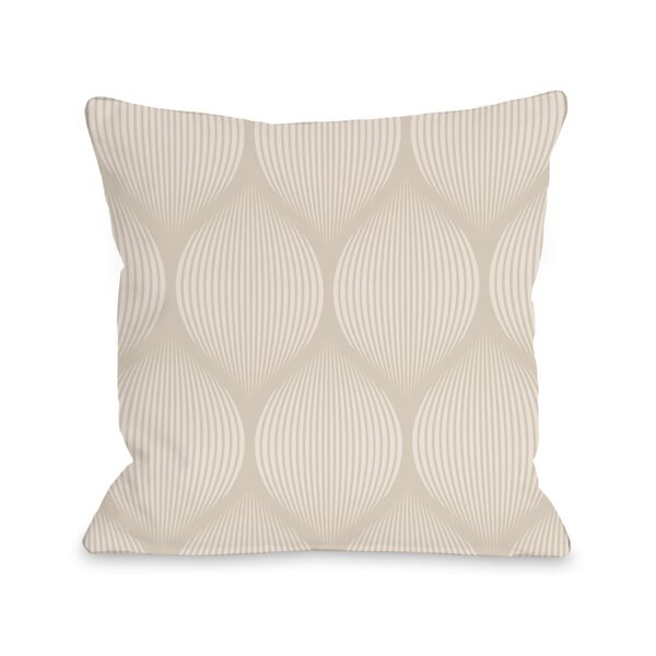 Lindsley Throw Pillow by Bungalow Rose