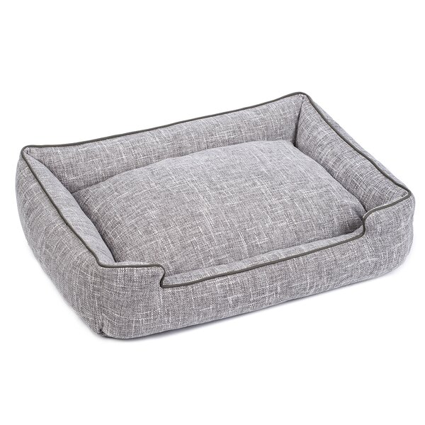 Harper Textured Woven Lounge Dog Bed by Jax & Bone