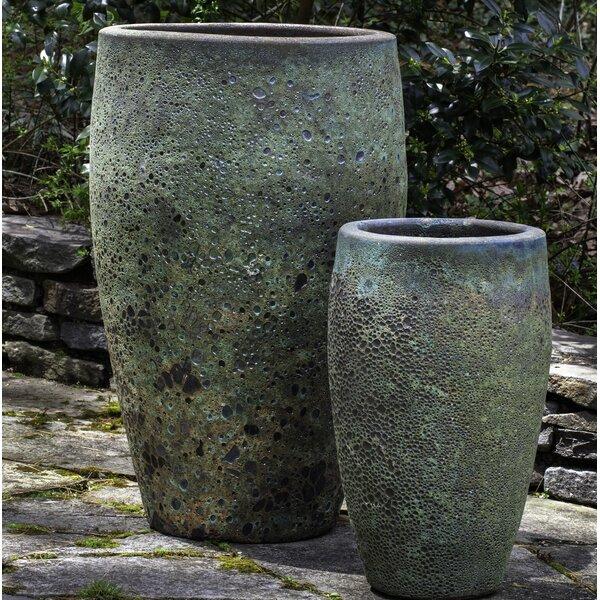 Anikawi 2-Piece Terra Cotta Pot Planter Set by Bloomsbury Market