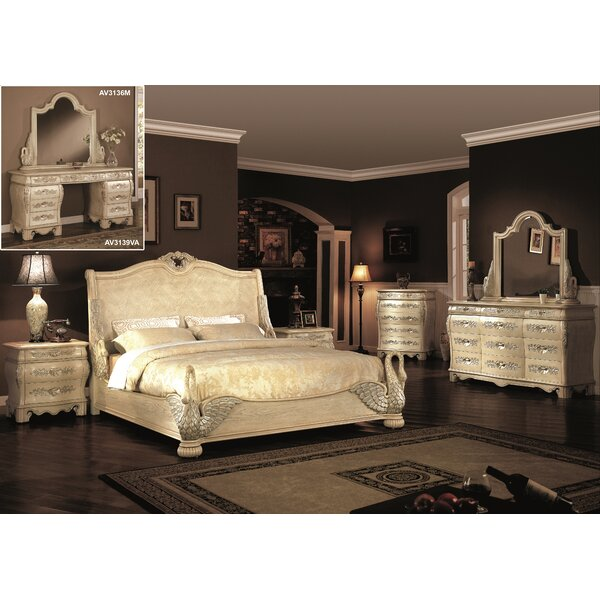 Norman 9 Drawer Dresser with Mirror by Astoria Grand