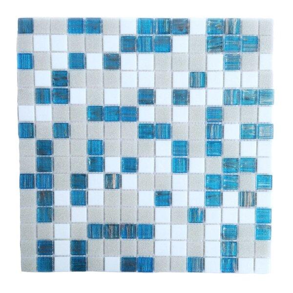 Bon Appetit 0.75 x 0.75 Glass Mosaic Tile in Turquoise Splash by Abolos