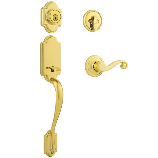 Arlington Single Cylinder Entrance Handleset by Kwikset