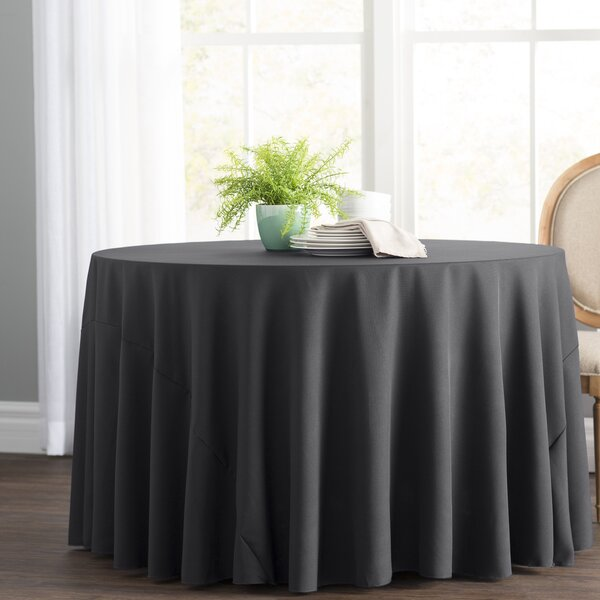 Wayfair Basics Polyester Round Tablecloth By Wayfair Basics™.