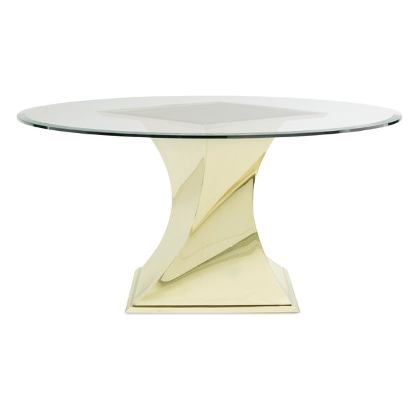 Do a 360 - Glass Top Dining Table by Caracole Classic Caracole Classic
