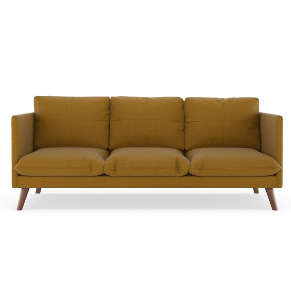 Best Reviews Rodgers Linen Weave Sofa by Brayden Studio by Brayden Studio
