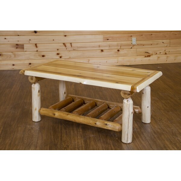 Glenview Cedar Coffee Table by Loon Peak