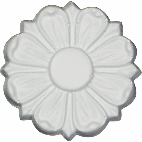 Stockport 2 1/2H x 2 1/2W x 3/8D Rosette Applique by Ekena Millwork