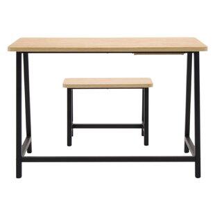 2 Piece Homeroom Writing Desk and Bench Set