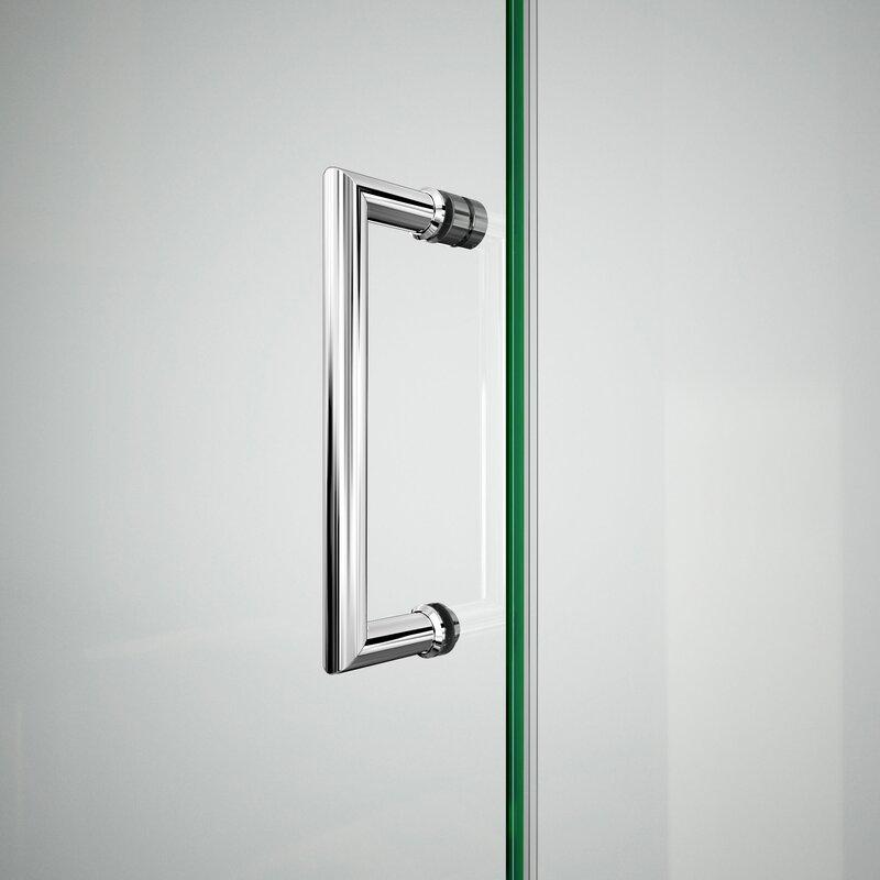Dreamline unidoor x 72 x 55 5 hinged frameless shower for Door 55 reviews