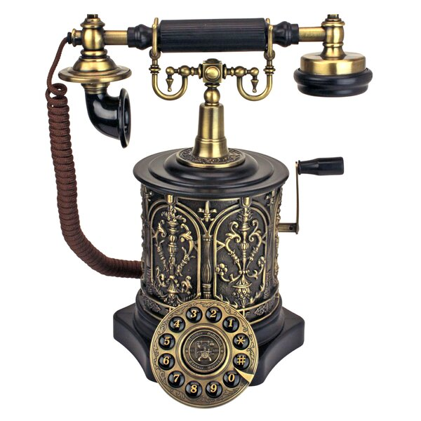 The Swedish Royal Family Replica Telephone by Design Toscano