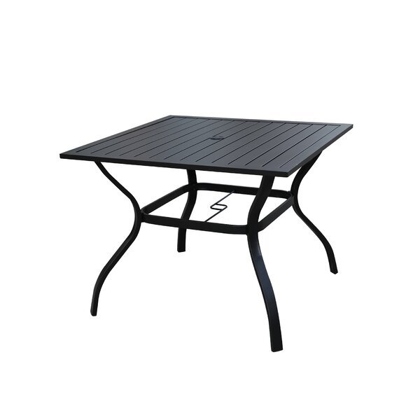 Taft Avenue Metal Dining Table by Winston Porter