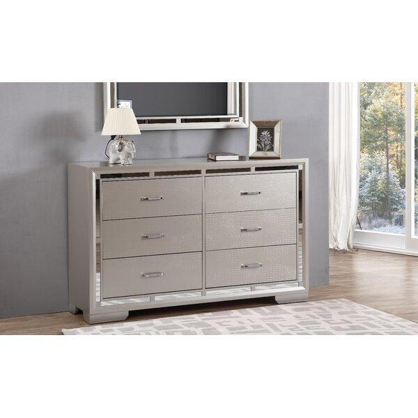Mohn 6 Drawer Double Dresser by House of Hampton