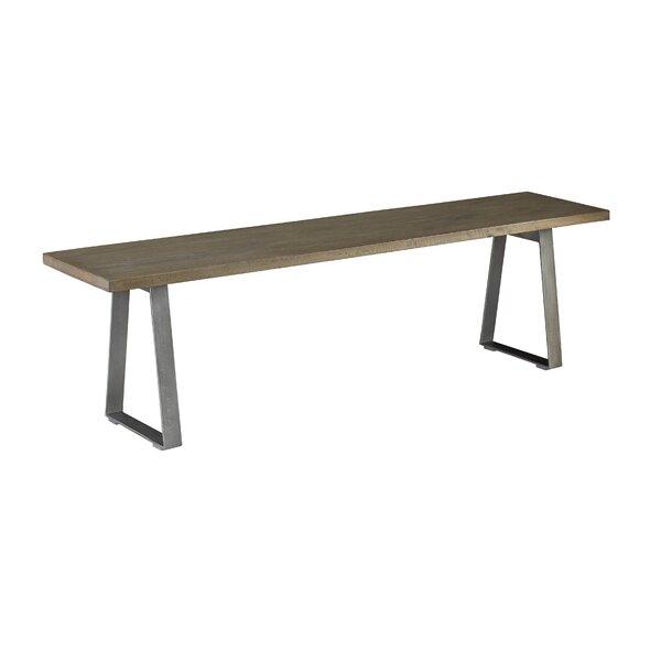 Colberg Wood Bench by Brayden Studio
