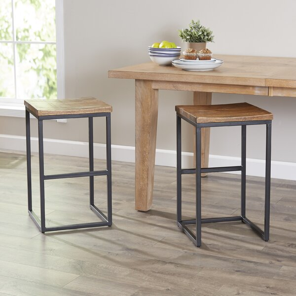 Davie Bar & Counter Stool (Set of 2) by Brayden Studio