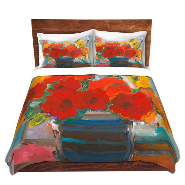 Bouquet Flowers Duvet Cover Set
