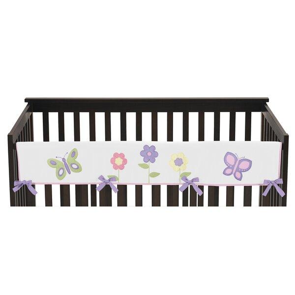 Butterfly Long Crib Rail Guard Cover by Sweet Jojo Designs