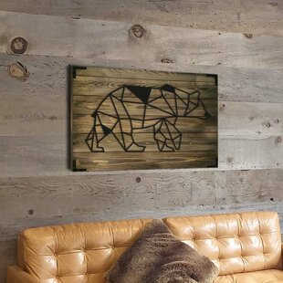 Polar Bear Skeleton Wall Decor