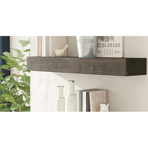 Henjes Wood Wall Shelf by Union Rustic