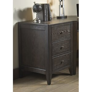 Barbican 3 Drawer End Table by Darby Home Co