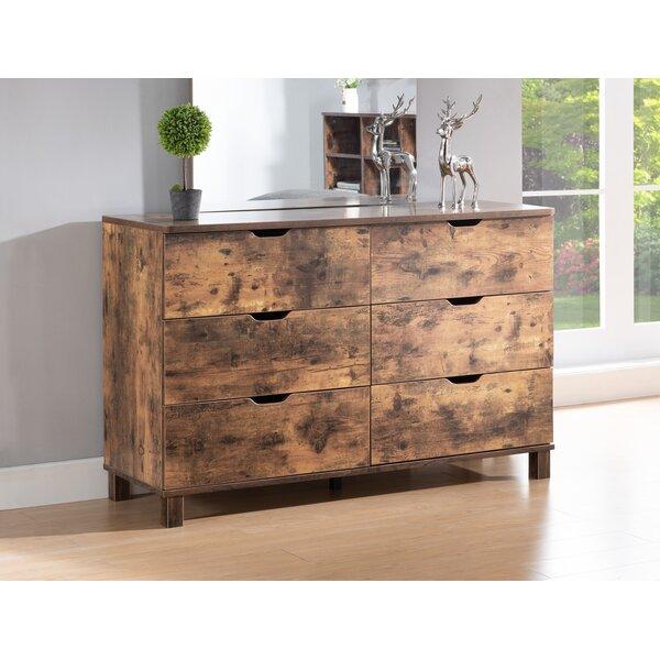 Felten 6 Drawer Double Dresser by Union Rustic