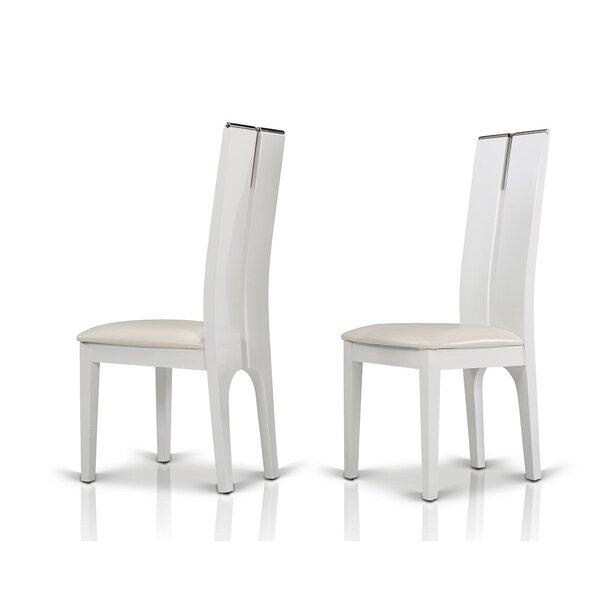 Clower Wood Side Chair (Set of 2) by Orren Ellis