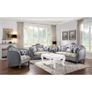 Tejada 3 Piece Standard Living Room Set by Rosdorf Park