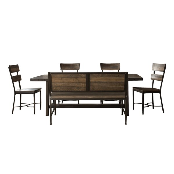 Putney 6 Piece Solid Wood Dining Set by Gracie Oaks Gracie Oaks