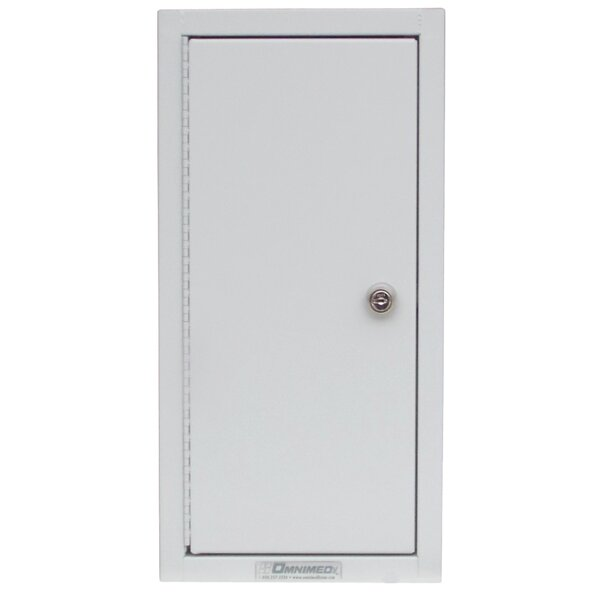 9 W x 17.75 H Wall Mounted Cabinet by Omnimed